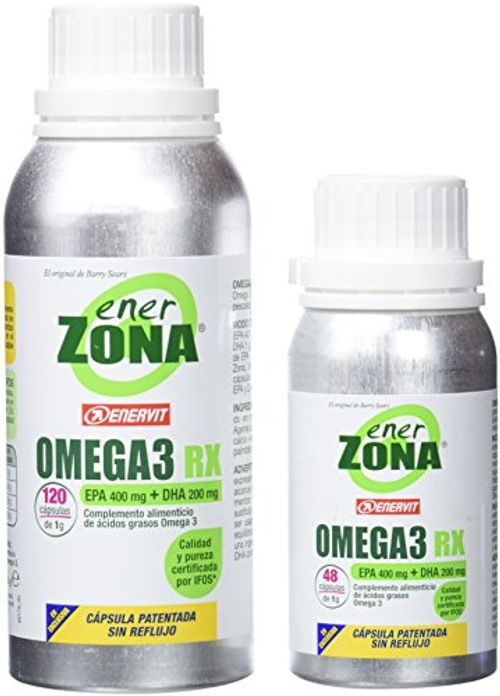 photo Wallpaper of -OMEGA 3 RX PACK 120 + 48 CAPSULAS ENERZONA-