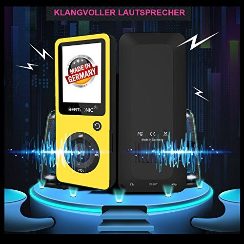 photo Wallpaper of BERTRONIC-BERTRONIC Made In Germany BC02 Royal MP3 Player 8 GB  -Gelb