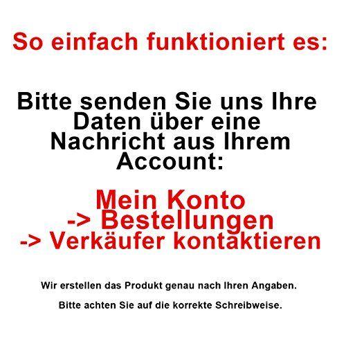 photo Wallpaper of Striefchen-Striefchen® Tasse Mit Einhorn Und Wunschnamen Für Mädchen-Weiß