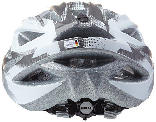 photo Wallpaper of Uvex-Uvex Erwachsene Fahrradhelm Xenova CC, White/Dark Silver Mat, 52 57-White/Dark Silver Mat
