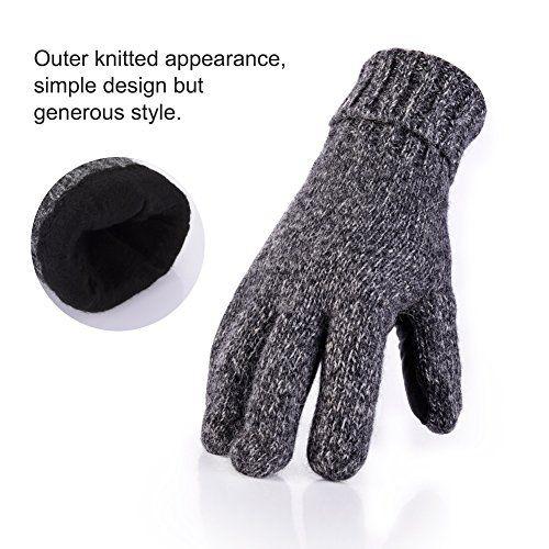 photo Wallpaper of Vbiger-Vbiger Winter Handschuhe Warme Handschuhe Baumwolle Damen Frauen Handschuhe, Stil 2 Grau(l), One Size-Stil 2 Grau(l)