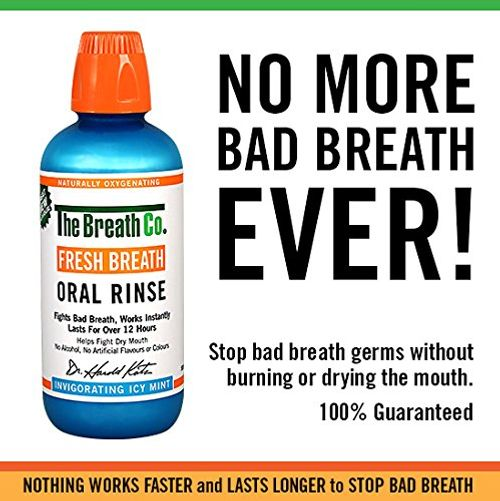 photo Wallpaper of The Breath Co-The Breath Co Fresco Respiración Oral Enjuague   500 Ml, Icy Menta-