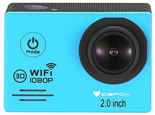 photo Wallpaper of IceFox-Action Cam, Icefox ® Wasserdichte Wi Fi Action Kamera, 12 MP, 1080 P,-Blau