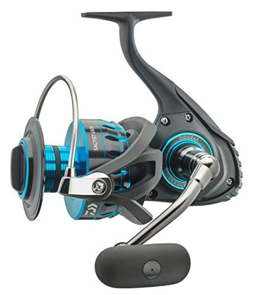 photo Wallpaper of Daiwa-Daiwa Saltist 3500 Angelrolle Stationärrolle-