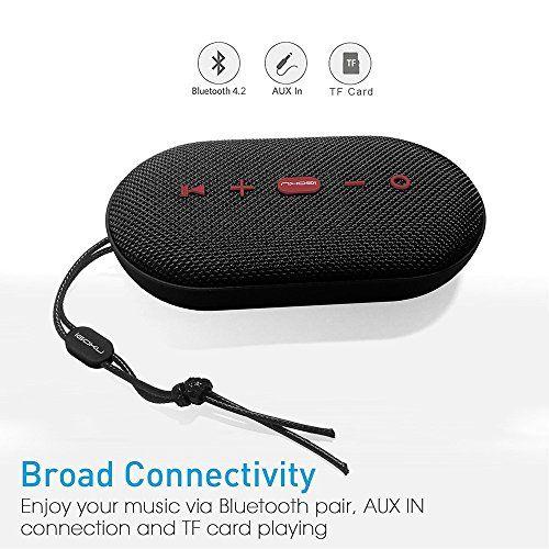 photo Wallpaper of iGOKU-Bluetooth Lautsprecher, IGOKU SoundCore 4.2 Mobiler Wireless Bluetooth Speaker 10W+ Lautsprecher, Mini Bluetooth Lautsprecher-