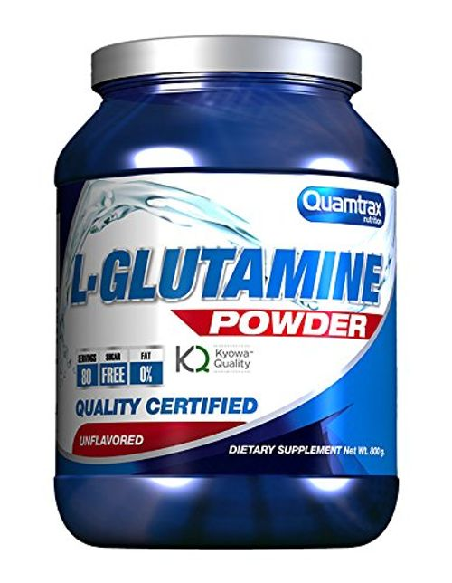 photo Wallpaper of Quamtrax Nutrition-Quamtrax L Glutamine Polvo, 800 Gr-Azul