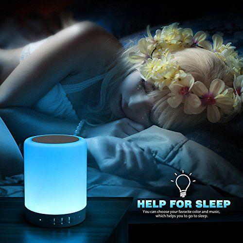 photo Wallpaper of Victorstar-Bluetooth Lautsprecher Mit LED Licht   VICTORSTAR Y02W Touch-weiß