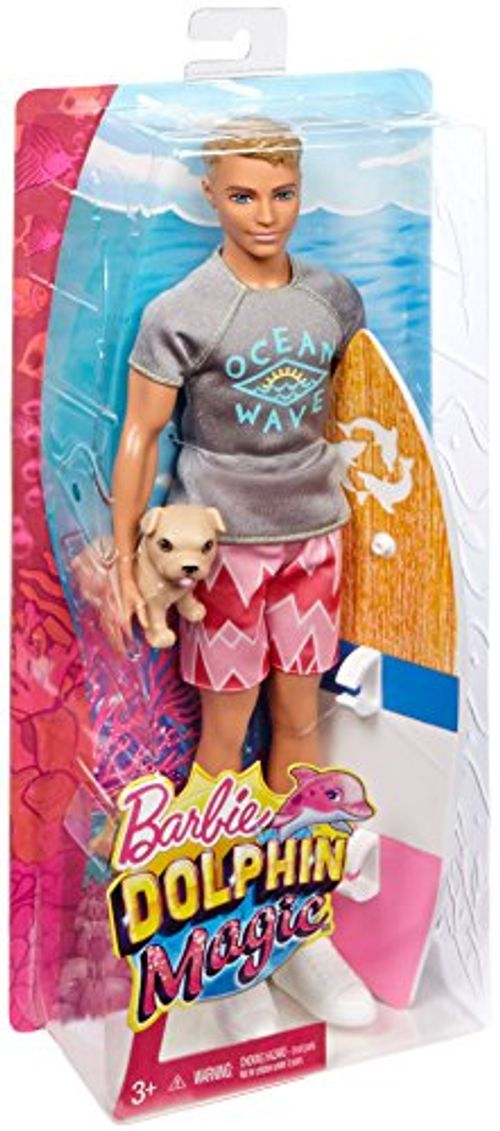 photo Wallpaper of Barbie-Barbie FBD71   Magie Der Delfine Surfer Ken-Mehrfarbig