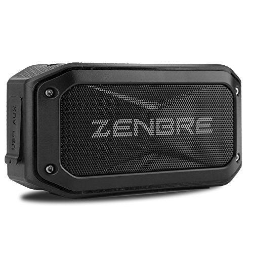 photo Wallpaper of ZENBRE-Bluetooth Lautsprecher, ZENBRE D5 Bluetooth 4.1 IPX7 Lautsprecher, 40 Stunden Spielzeit Mit-Schwarz