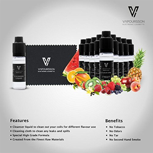 photo Wallpaper of Vapoursson-VAPOURSSON Primera Mezcla De Frutas Limpiador Pack | 10 X 10ml-