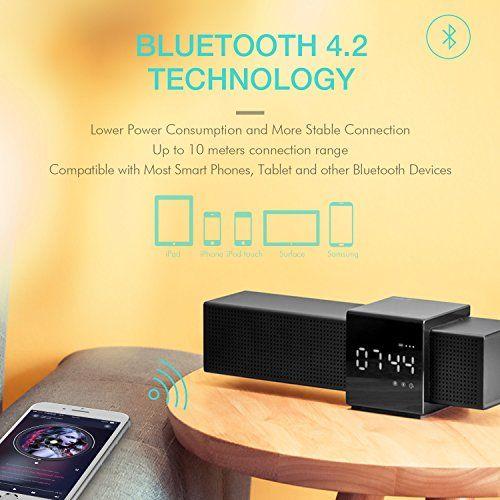 photo Wallpaper of HAVIT-Bluetooth Lautsprecher Box HAVIT Kabelloser Lautsprecher Mit 10W Dual Treiber Reinem Bass,-Schwarz