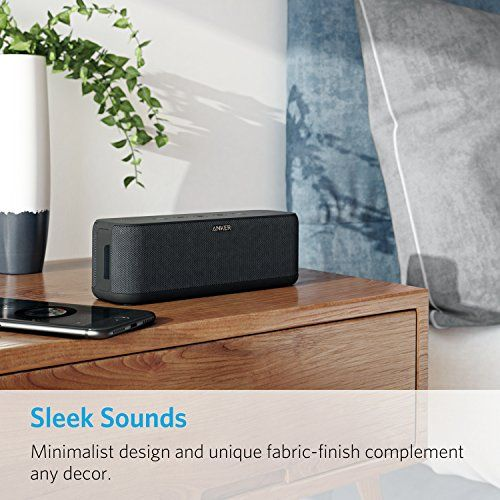 photo Wallpaper of ANKER-Anker SoundCore Boost 20W Bluetooth Lautsprecher Mit BassUp Technologie. IPX5 Wasserfest, Verwendbar Als-Bluetooth Lautsprecher