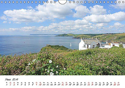 photo Wallpaper of CALVENDO-Cornwall. Der Malerische Südwesten Englands (Wandkalender 2019 DIN A4 Quer):-