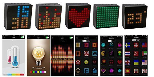 photo Wallpaper of Divoom-Mini Bluetooth Lautsprecher, ELEGIANT Tragbar Bluetooth 4.0 Stereo Lautsprecher Mit Smartphone-