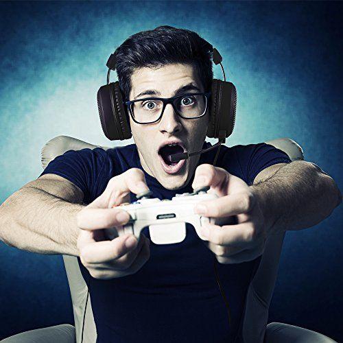 photo Wallpaper of AudioMX-Gaming Headset, AudioMX Gaming Kopfhörer Mit 7,1 Surround Sound, 3,5mm-Schwarz