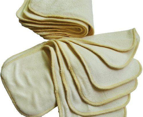 photo Wallpaper of Alva Baby-Bebé De Tabla Para De Agua De Tela Impermeable Y De Pañales-3 layers bamboo liners