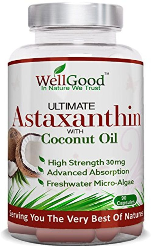 photo Wallpaper of wellgood - in nature we trust-Astaxantina Natural 30mg Con Aceite De Coco   Vegano 90 Cápsulas-
