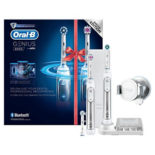 photo Wallpaper of Oral-B-Oral B Genius 8900   Pack Con 2 Cepillos De Dientes Eléctricos,-