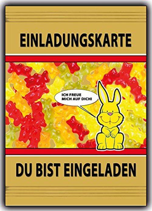 photo Wallpaper of Kartenversand24-12 Set Einladungskarten Jungen Mädchen Lustig Witzig Ausgefallen Für Fussball Fans, Feuerwehr Freunde,-