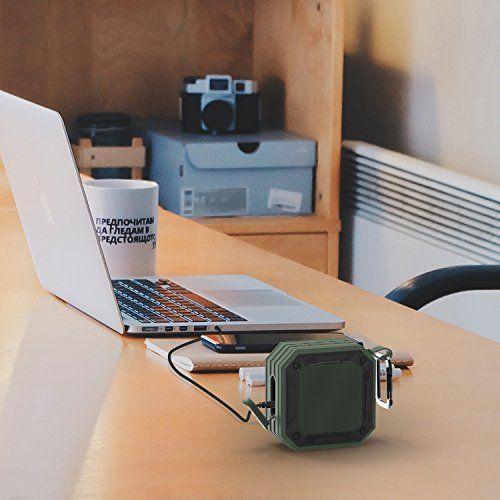 photo Wallpaper of MixcMax-Bluetooth Lautsprecher MixcMax Mobiler Lautsprecher Mit 20 Stunden Akkulaufzeit Und überraschend Kraftvollem Sound Tragbarer-