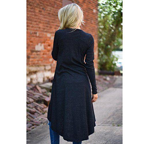 photo Wallpaper of Bestop Bekleidung-Damen Strickjacken, Bestop Damen Beiläufig Lose Pullover Langarm Strickjacke Outwear-
