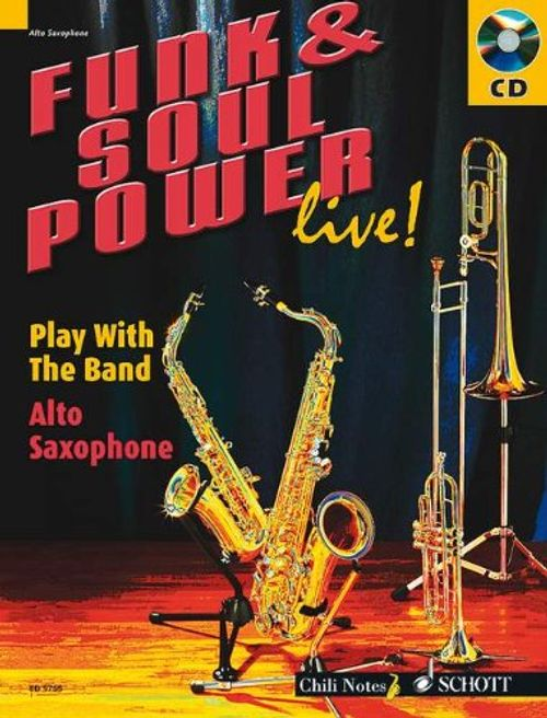 photo Wallpaper of Schott Music-Funk & Soul Power Live!: Play With The Band. Alt Saxophon.-