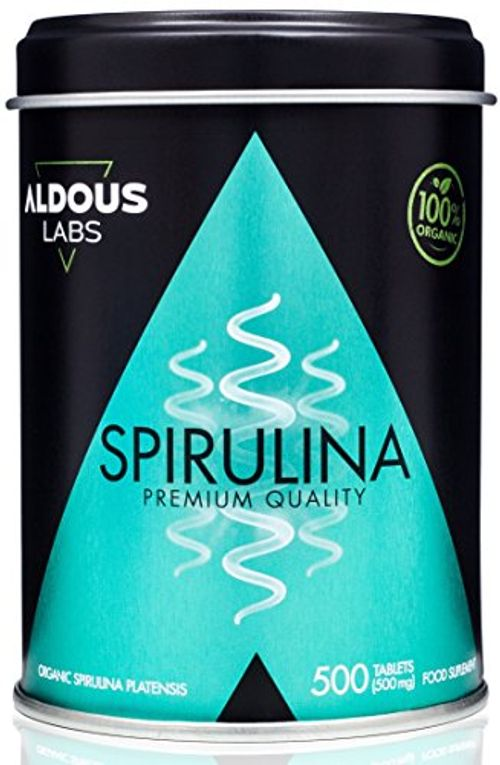 photo Wallpaper of Aldous Labs-Espirulina Ecológica Y Orgánica De Calidad Premium | 500 Comprimidos De 500mg |-