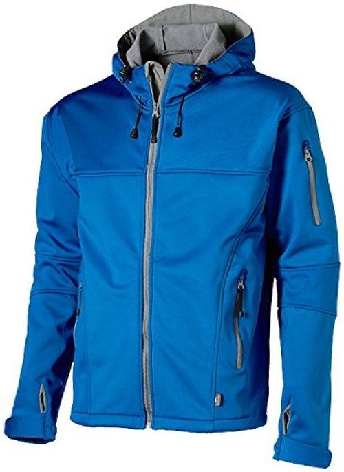 photo Wallpaper of Slazenger-Slazenger Softshell Jacket, Sky Blue / Grey, M-Sky Blue/Grey