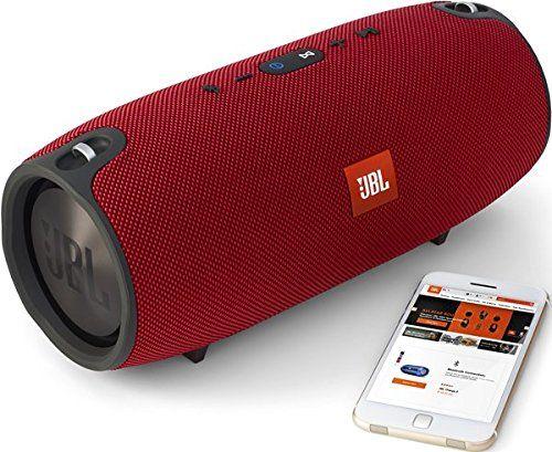 photo Wallpaper of JBL-JBL Xtreme Spritzwasserfester Tragbarer Bluetooth Lautsprecher Mit 10,000 MAh Akku,-Rot
