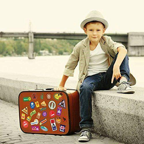 photo Wallpaper of Supertogether-World Travel Locations Suitcase Stickers   28 Von Gepäck Aufkleber Labels Set-
