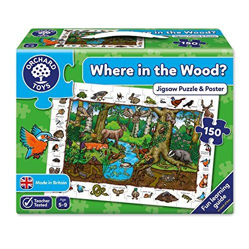 photo Wallpaper of Orchard Toys-Orchard Toys Wo Im Wald 150 Teile-mehrfarbig
