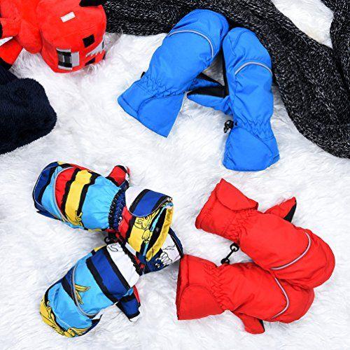 photo Wallpaper of Vbiger-Vbiger Skifahren Handschuhe Skihandschuhe KinderSchnee Handschuhe Outdoor Handschuhe Sport Handschuhe Winter-Mehrfarbig