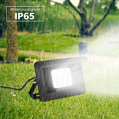 photo Wallpaper of Allmay-2 Pack 30W LED Fluter Außen Scheinwerfer Lampe Mit Stecker IP65 Wasserdicht-2 Pack