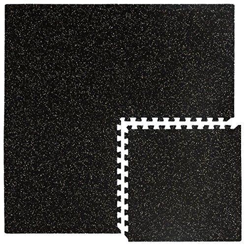 photo Wallpaper of Eyepower-Eyepower Robuste Gummimatte 1,54qm Bodenschutzmatte Inkl. Abschlussleisten Erweiterbares Stecksystem Bodenmatte Stallmatte-