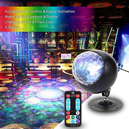 photo Wallpaper of Tomshine-Discokugel, Tomshine Disco Lichteffekte, Mini LED Discolicht, Fernbedienung Und Musikgesteuert Partylicht-1#