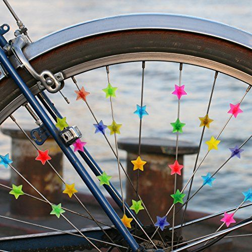 photo Wallpaper of Filmer-Filmer Fahrrad Speichenclips Bunte Sterne (36 STK.)-