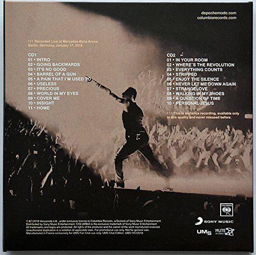 photo Wallpaper of -Depeche Mode LIVE IN BERLIN 2018 COMPLETE SET Global Spirit Tour 4CD-