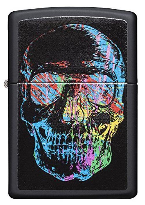 photo Wallpaper of Zippo-Zippo X Ray Black Matte Skull Lighter   Mechero, Color Negro Mate,-negro mate