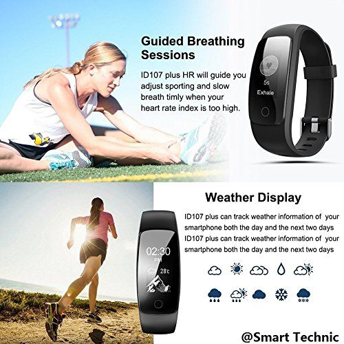 photo Wallpaper of Smart Technic-Pulsera Actividad Pulsera Inteligente Con GPS Para Correr, Nivel De Salud-Negro-107P