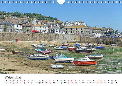 photo Wallpaper of CALVENDO-Cornwall. Der Malerische Südwesten Englands (Wandkalender 2019 DIN A4 Quer): Küste, Klippen, Buchten Und-