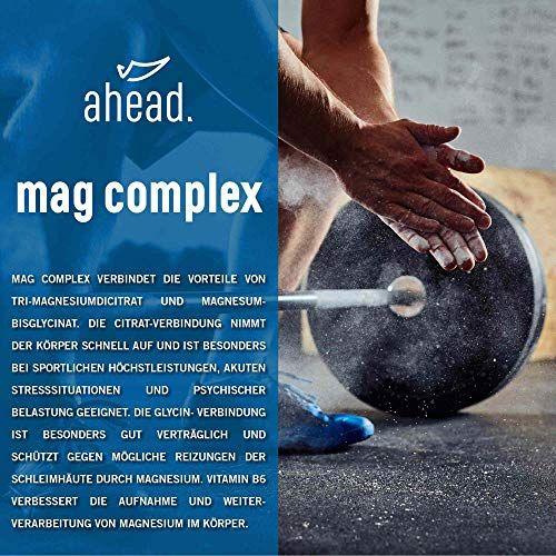 photo Wallpaper of ahead -Ahead® MAGNESIUM COMPLEX | 120 Kapseln Mit Magnesiumglycinat Und Magnesiumcitrat + Vitamin B6 |-