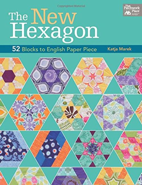 photo Wallpaper of -The New Hexagon: 52 Blocks To English Paper Piece-