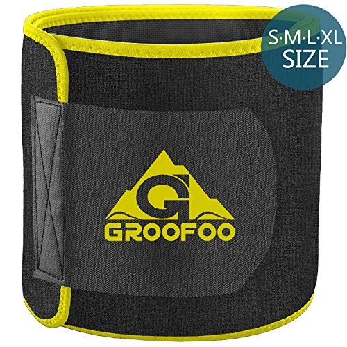 photo Wallpaper of GROOFOO-Faja Adelgazante, GROOFOO Faja Cinturón Para Adelgazar, Reductora De Peso, Moldeadora Para La Cintura,-Yellow