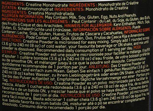 photo Wallpaper of Optimum Nutrition-Optimum Nutrition Creatine, Sin Sabor   634 G-No Especificado