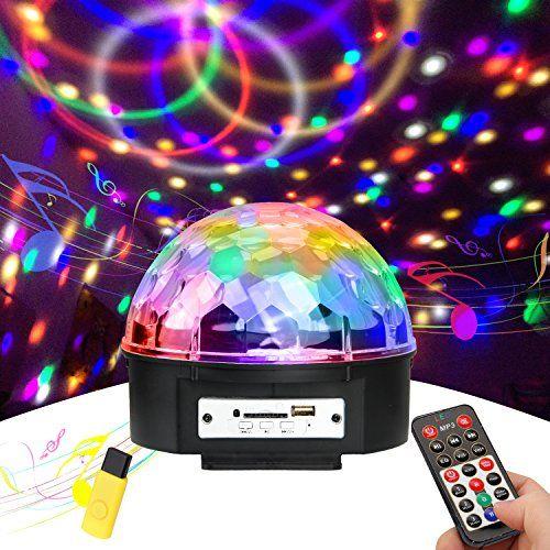 photo Wallpaper of UBEGOOD-Discokugel, Ubegood Disco Lichteffekte LED Lichteffekte Partylicht Partybeleuchtung Mit Fernbedienung-