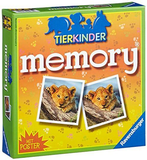 photo Wallpaper of Ravensburger-Ravensburger 21275   Tierkinder Memory-