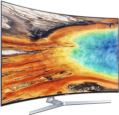 photo Wallpaper of Samsung-Samsung MU9009 138 Cm (55 Zoll) Curved Fernseher (Ultra HD, Twin Tuner, HDR 1000,-Silber