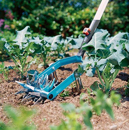 photo Wallpaper of Gardena-Gardena Combisystem Sternfräse Mit Jätemesser Gartenfräse Zur Saatvorbereitung Und Bodenlockerung, Aus Qualitätsstahl,-