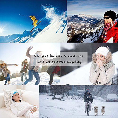 photo Wallpaper of SANDALUP-SANDALUP Wintermütze Gestrickte Mütze Mit Weichem Korallen Samt Futter Mütze-Schwarz