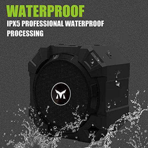 photo Wallpaper of Monstercube-Monstercube Armor Tragbarer Bluetooth Lautsprecher Kabellose Outdoor Sport Speaker Mit 5W Treiber Und Reinem-Black